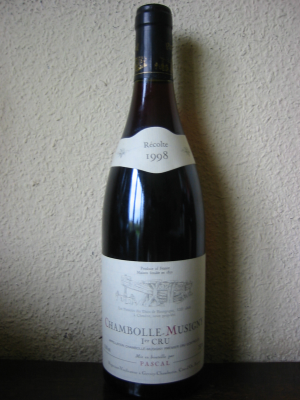 Chambolle-Musigny 1er Cru, Pascal 1998 75Cl