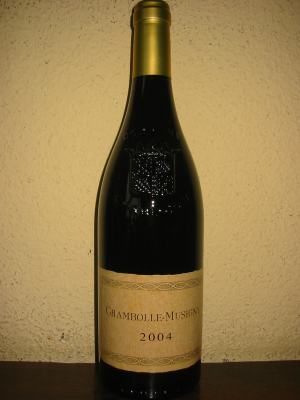 Chambolle-Musigny, Charlopin 2004 75Cl