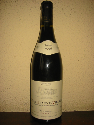 Côte de Beaune-Villages, Pascal 1996 75Cl