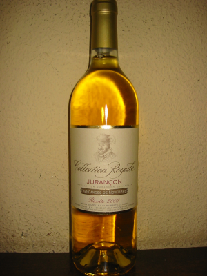 Jurançon Vendanges de Novembre, Collection Royale 2002 75Cl