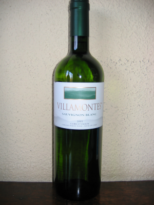 Chili: Curico Valley, Villamontes, Sauvignon 2005 75Cl